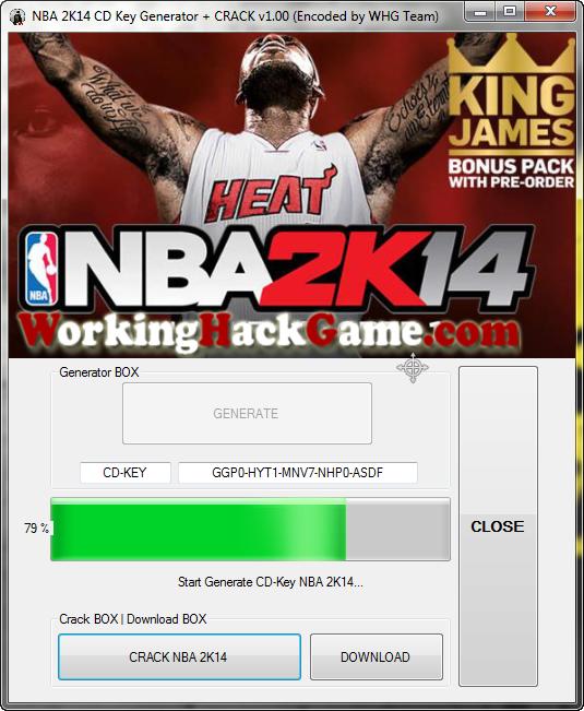 download crack only nba 2k14