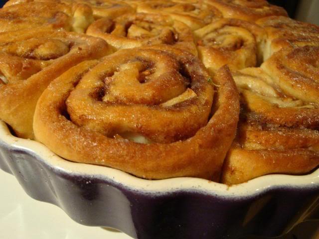 Apfel-Zimtschnecken-Kuchen