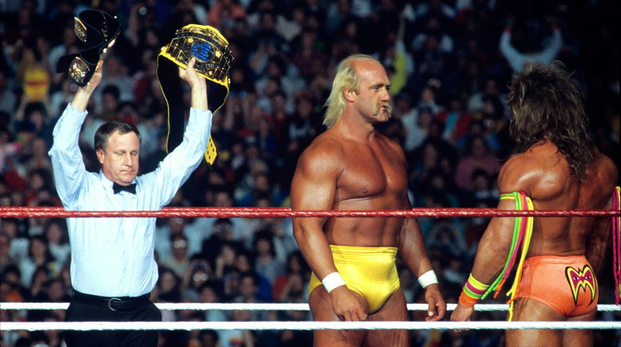 Historia del Wrestling: Hulk Hogan vs Ultimate Warrior ...