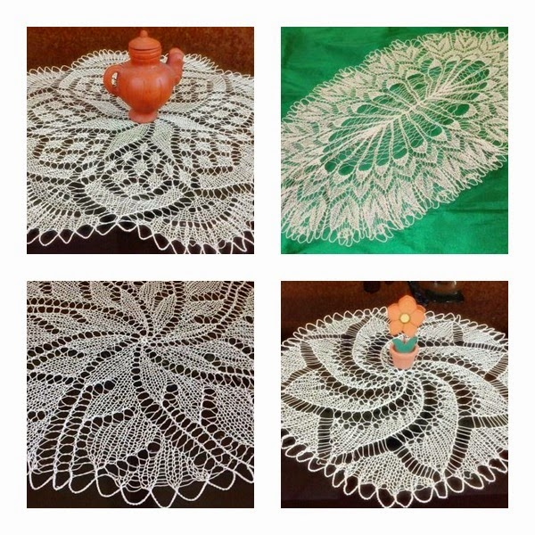 Crochet Table Cover