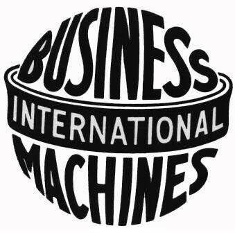 Logotipo antigo da IBM