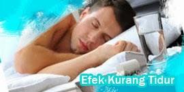 efek kurang tidur