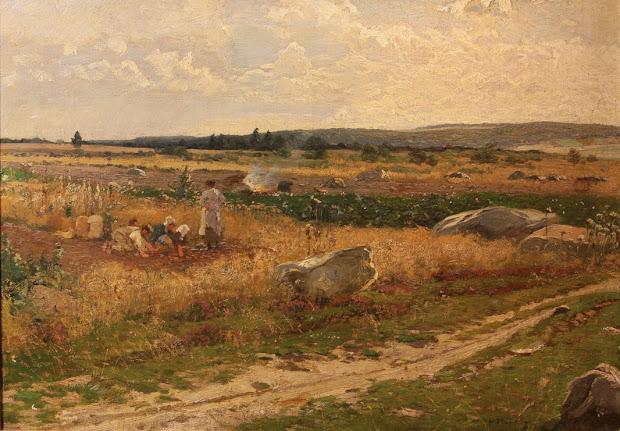 hugo hlig landscape genre