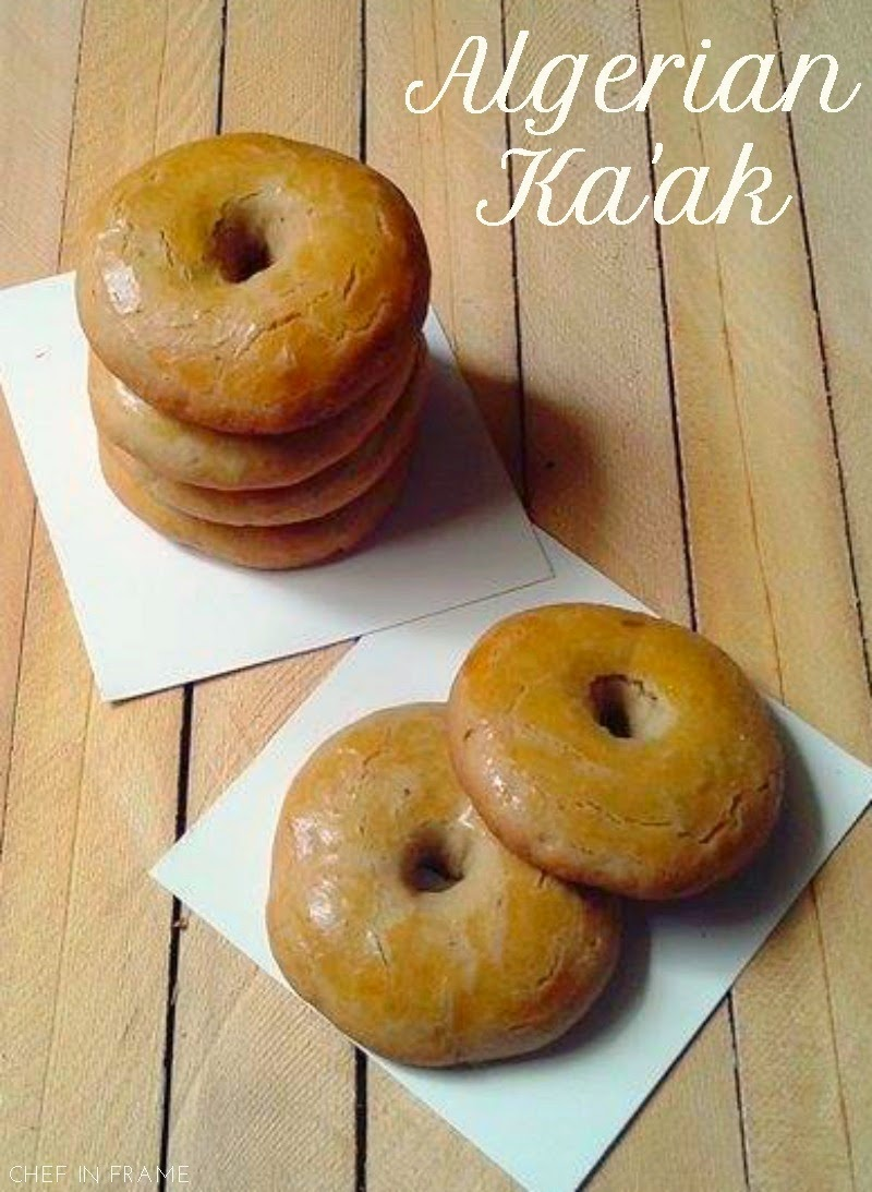 Yeast-less Algerian ka'ak