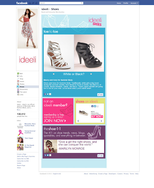 ideeliShoes TabMockup Shoetopia Week at Ideeli