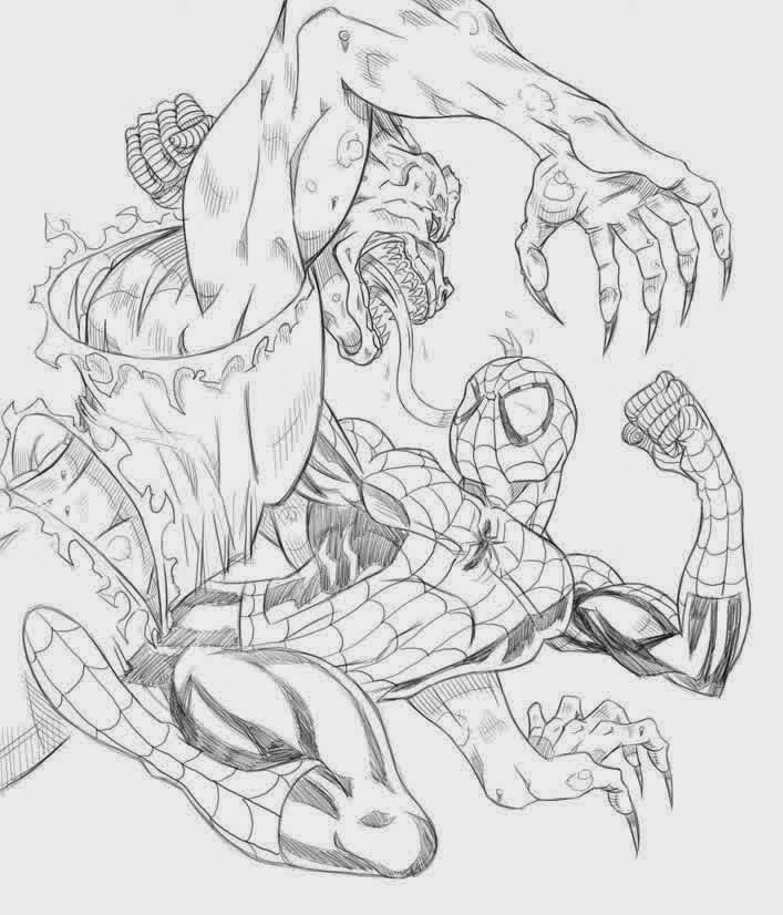 The Amazing New Spiderman Coloring Pages | New Coloring Pages