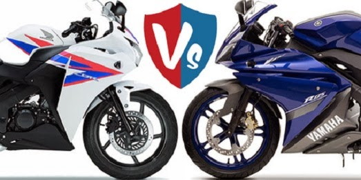 Yamaha R125 VS Honda CBR125R