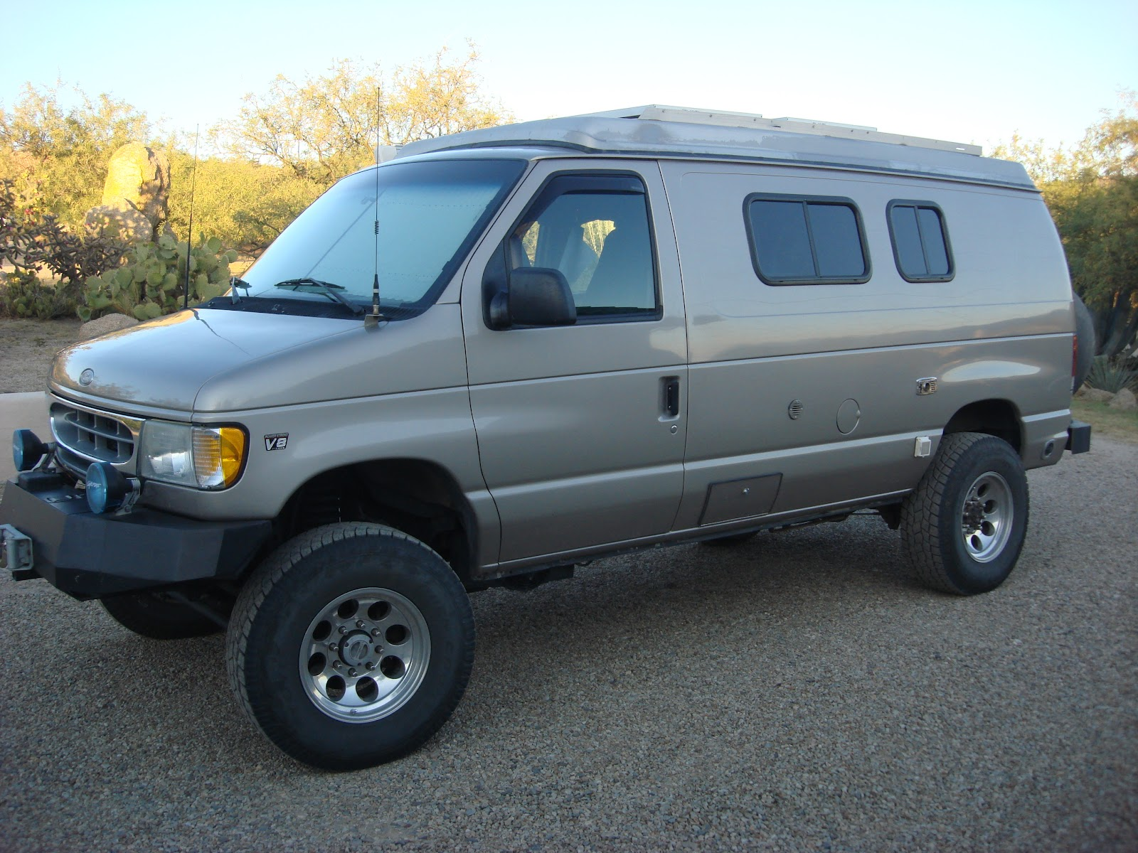 Sportsmobile 4x4 Ford Conversion Van For Sale