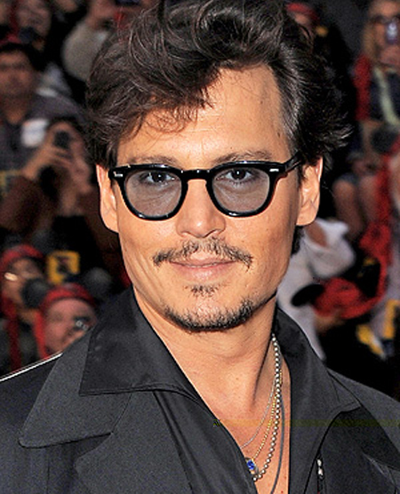 Johnny Depp Hairstyle 1