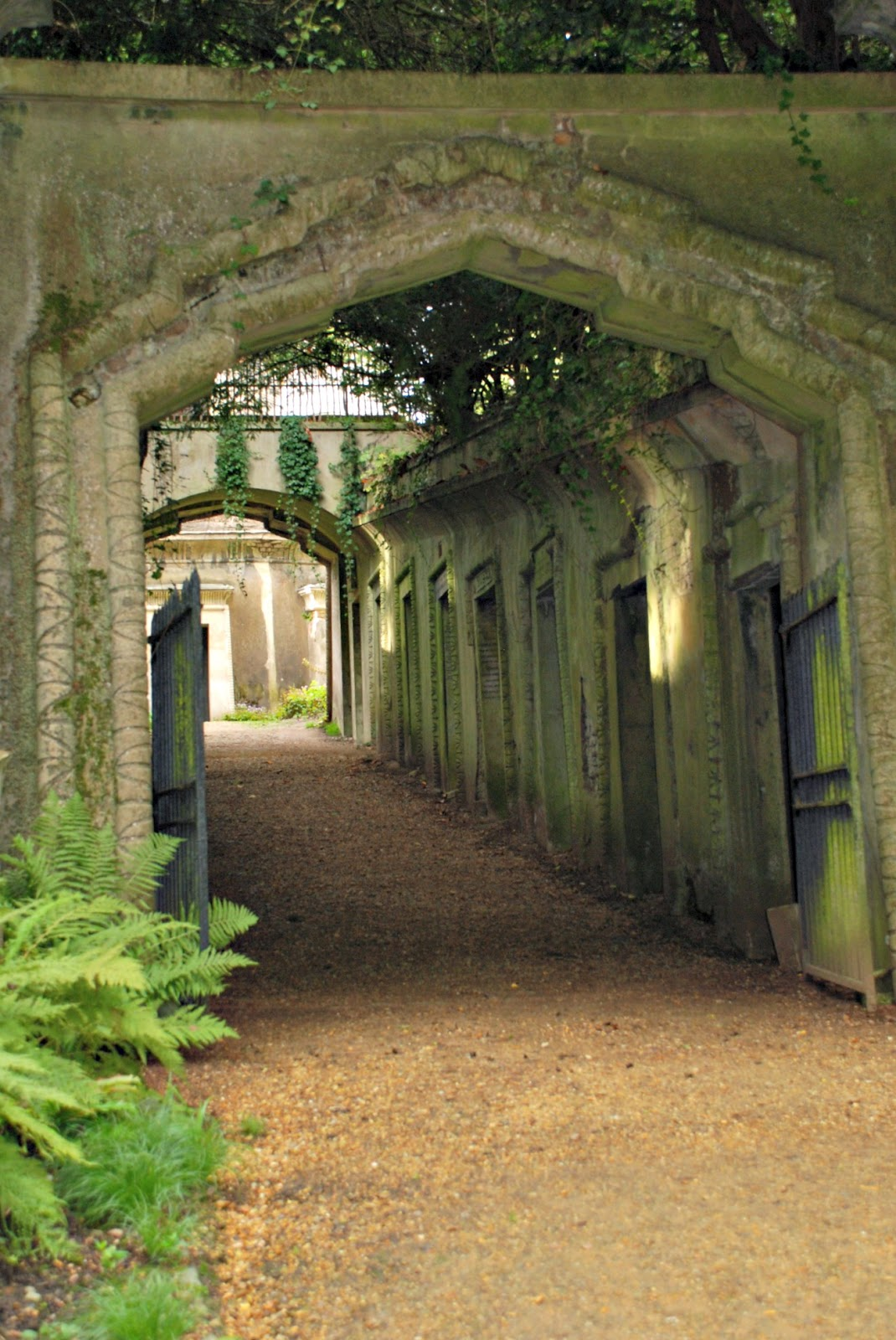 The Egyptian Avenue, Highgate Cemetery, London