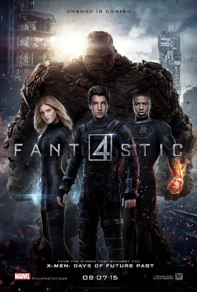 Poster Of Fantastic Four 2015 720p BluRay Dual Audio