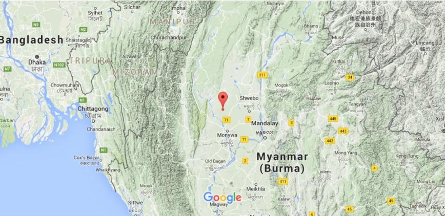Sciency Thoughts Magnitude 55 Earthquake in Sagaing Region Myanmar