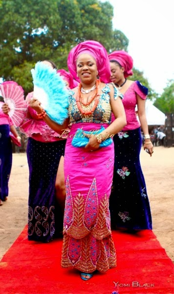 Wahure official african couture blog beautiful bride naija style
