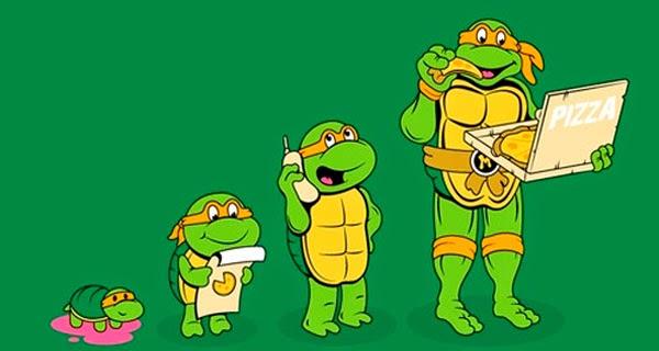 Evolución Tortugas Ninjas