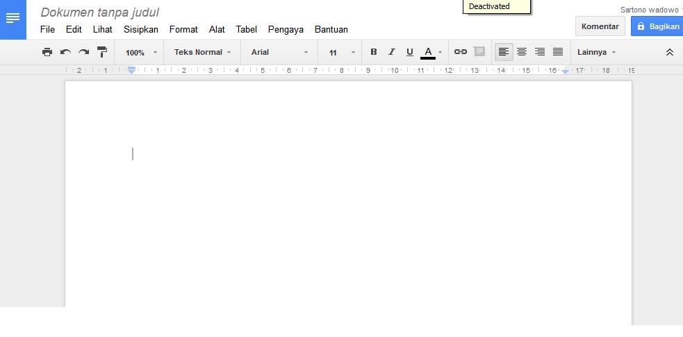Cara Membuat File pdf secara online