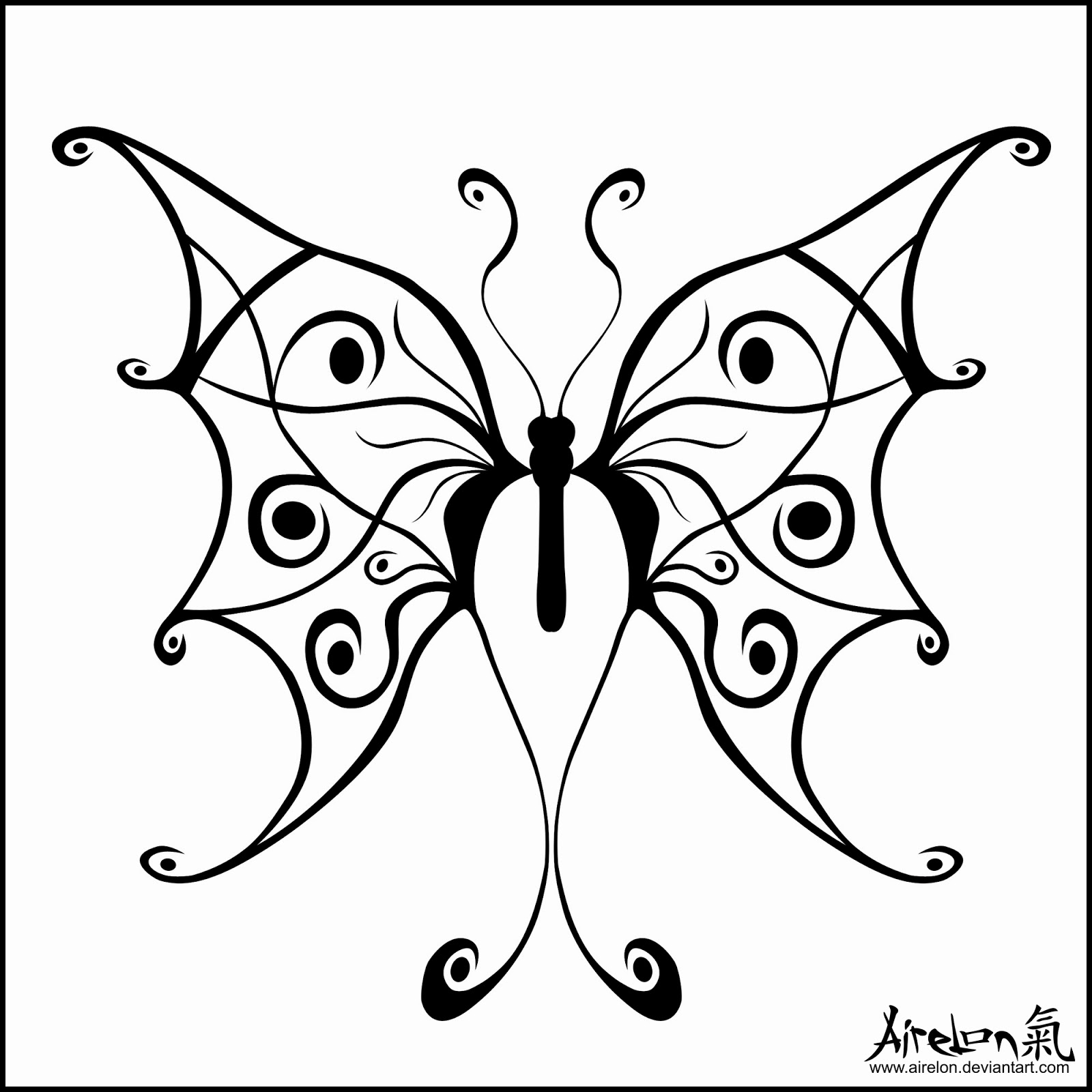 Download image tribal butterfly tattoo designs pc android iphone and