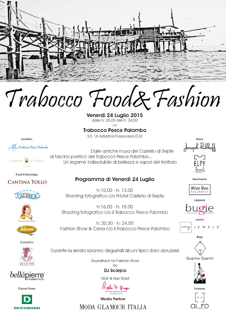 trabocco food e fashion evento abruzzo chieti