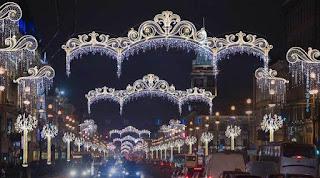 Новогоднее убранство города