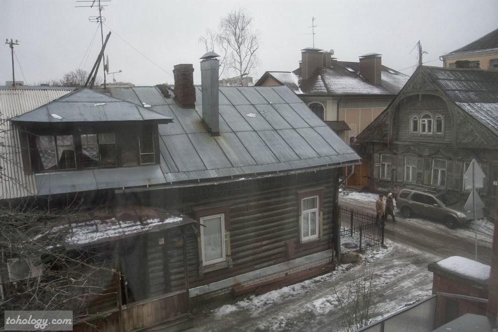 Вид из окна Отеля Оснабрюк