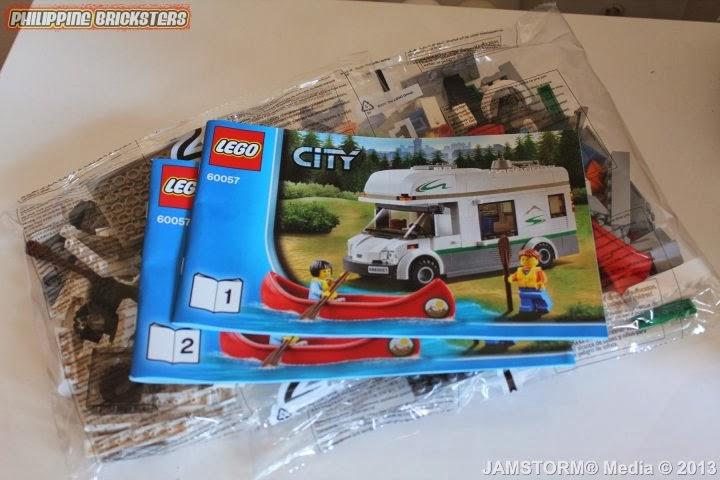 Philippine Bricksters: LEGO® City 60057 Camper Van!