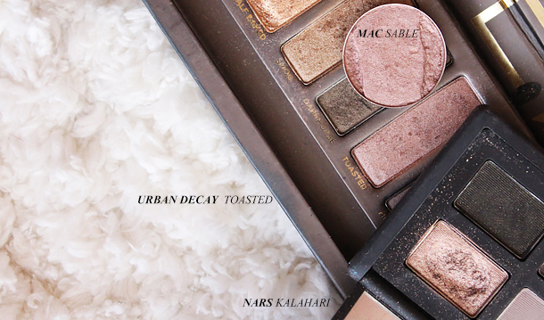 nars kalahari eyeshadow dupe swatch comparison mac sable urban decay toasted