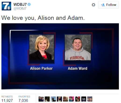 WDBJ7 Shooting