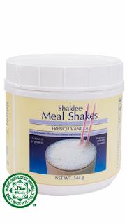 cara pengambilan meal shake
