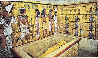 La Tumba de Tutankhamon en el Valle de los Reyes. El Rio Nilo. Egipto. Egipto a tus pies. Religion egipcia. Culto funerario