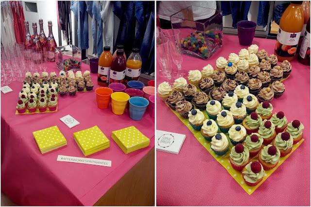 sophie Bakery, cupcake, Nantes, bullelodie
