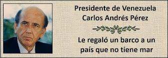 Fotos del Presidente Venezolano Carlos Andrés Perez