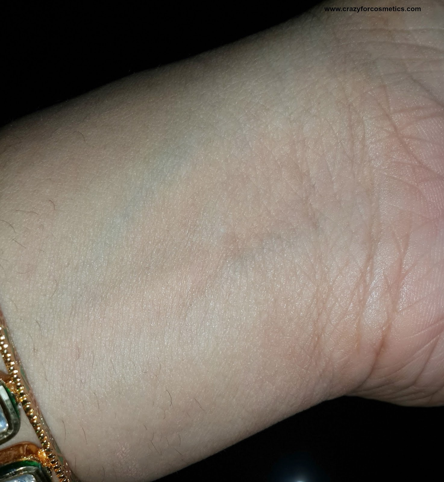 mac bb cream India, mac bb cream price India, mac prep and prime swatches under flash