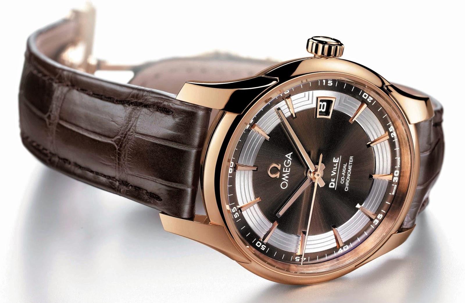 Omega De Ville Hour Vision replica watch