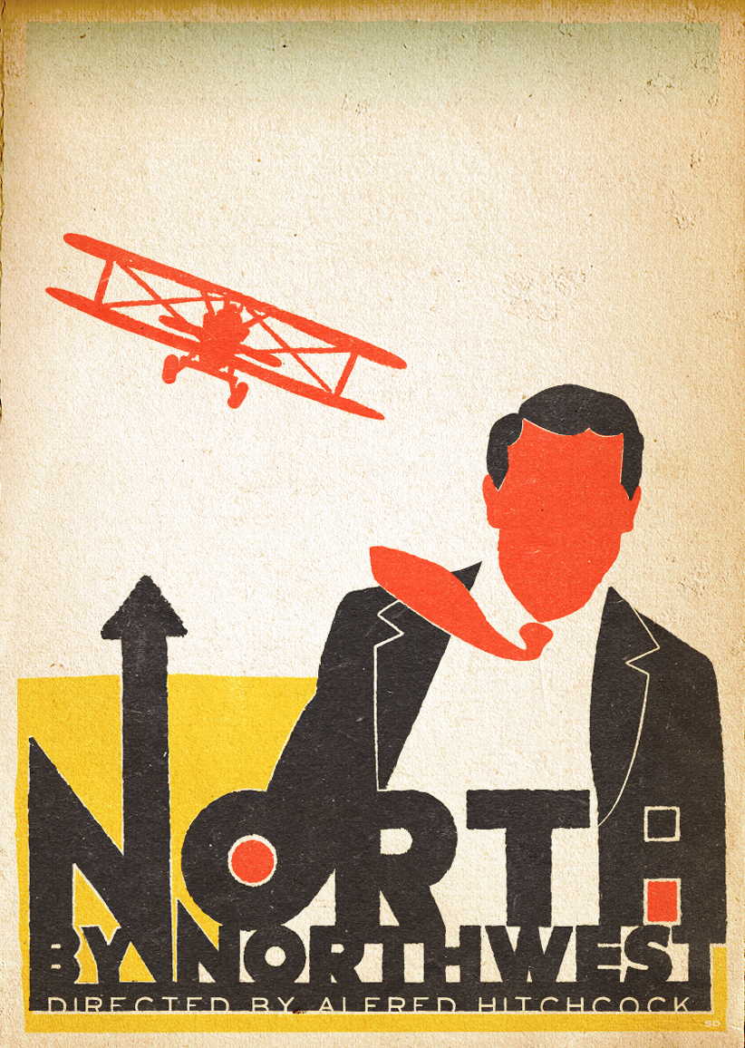 north by northwest Alfred hitchcock filmed cary grant's entrance into the united nations building  from across the street with a hidden camera when he gets to the top of the stairs  a.