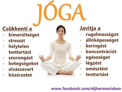 jóga, jóga hatásai, jóga javítja, jóga keringés, jóga stressz, jóga légzés, jóga állóképesség