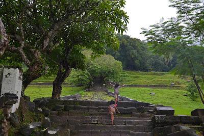 Ruins of Wat Phu in Pakse, southern Laos