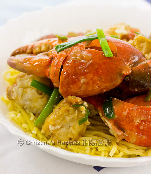 薑蔥炒蟹 Ginger and Scallion Crab with  Noodles02