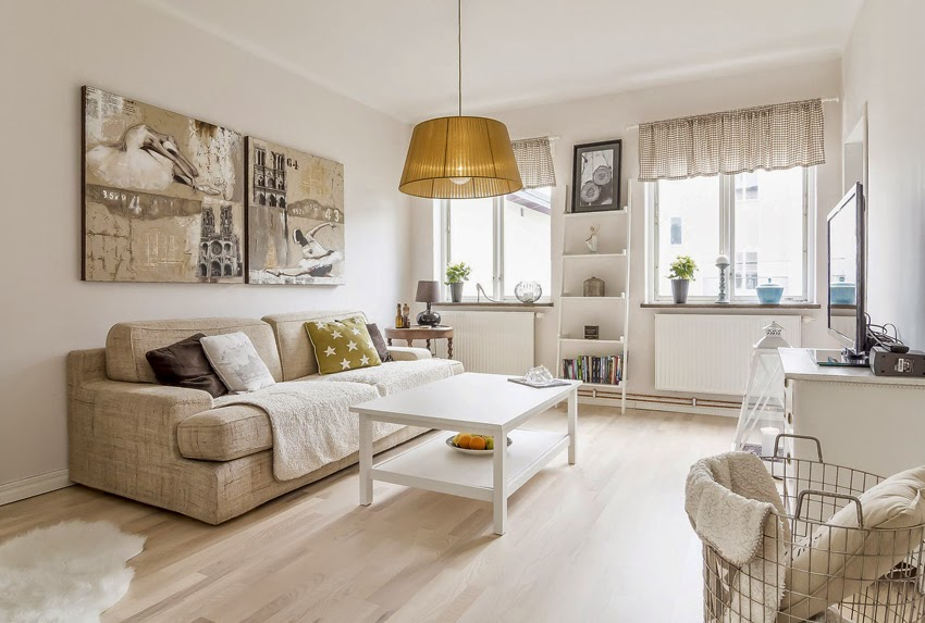 hogares frescos c lido dise o interior de un hogar en suecia On hogar decoracion y diseno