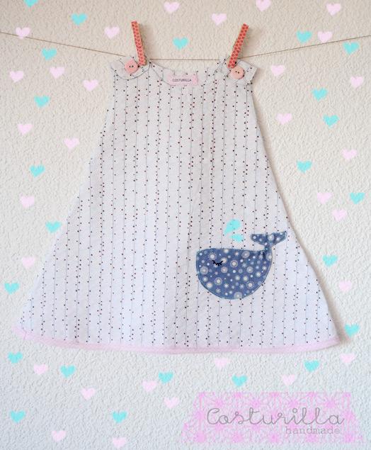 Vestido de bebe handmade
