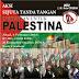 Aksi Sejuta Tanda Tangan Dukungan Untuk Palestina 2015