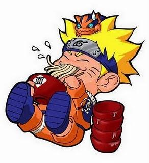 Gambar Gambar Lucu Naruto Makan Mie