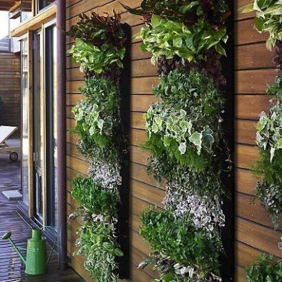 Herb Garden Design Ideas image of raised bed herb garden ideas Vertical Gardens Are Hot