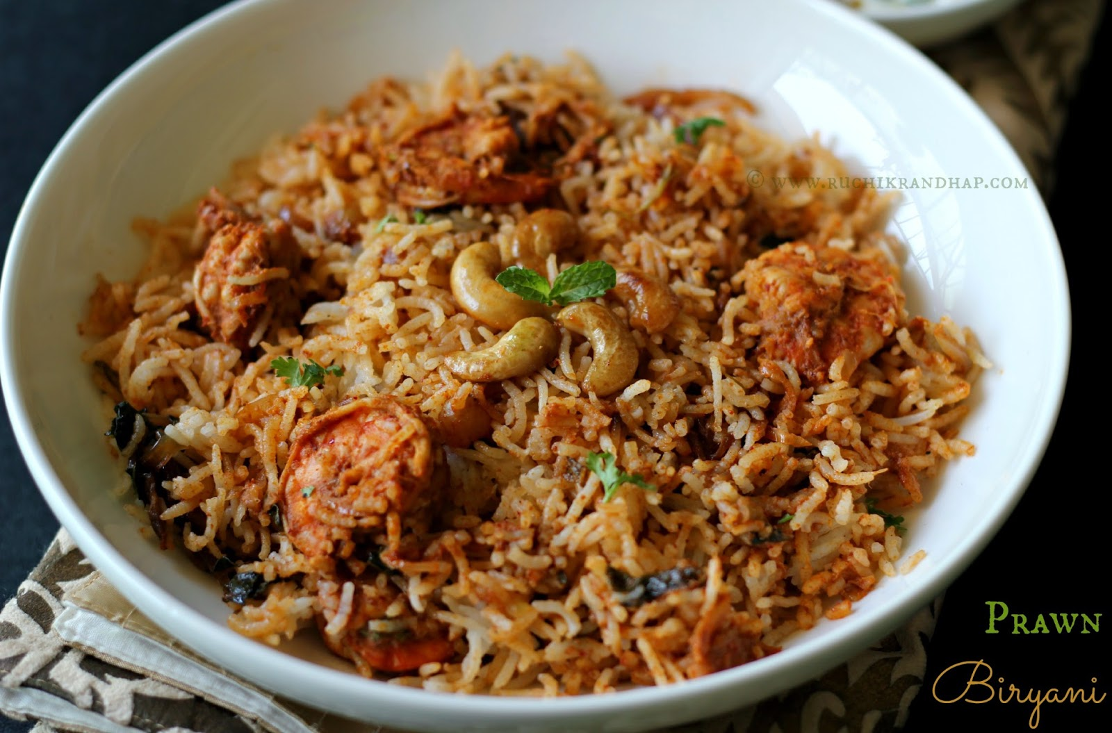 ... Randhap (Delicious Cooking): Prawn Biryani ~ When The Hubby Cooks