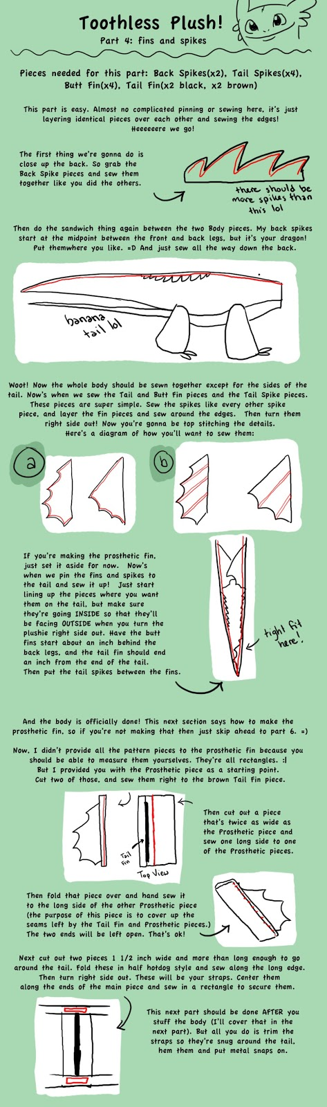 how to make a paper toothless