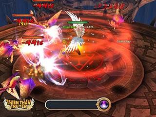 Cảnh đánh nhau trong Thiên thần truyện