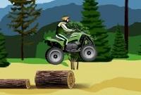 لعبة دراجات الغابة