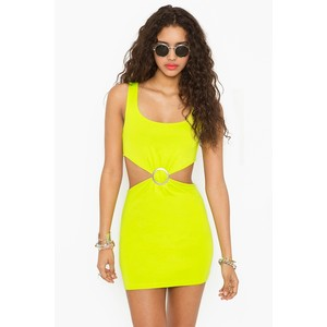 Neon Yellow Cocktail Dresses Neon Yellow Prom Dresses Plumede