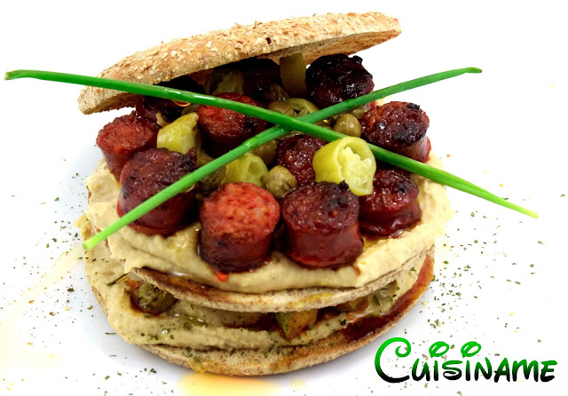 sandwich, sandwich thins, sandwich gourmet, chistorras, hummus, sandwich original, yummy recipes, recetas originales, humor, recetas caseras, ideas para sandwich, sandwich y bocadillos