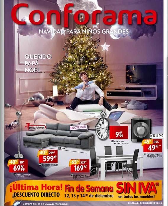 conforama Ofertas Muebles y Electro Navidad 14