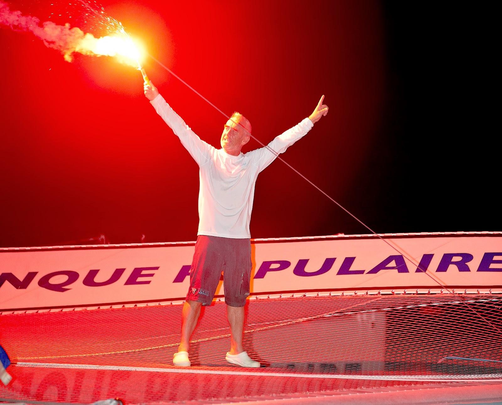 """Loick Peyron : """"Je n'imaginais pas refaire et gagner une Route du Rhum !"""""""