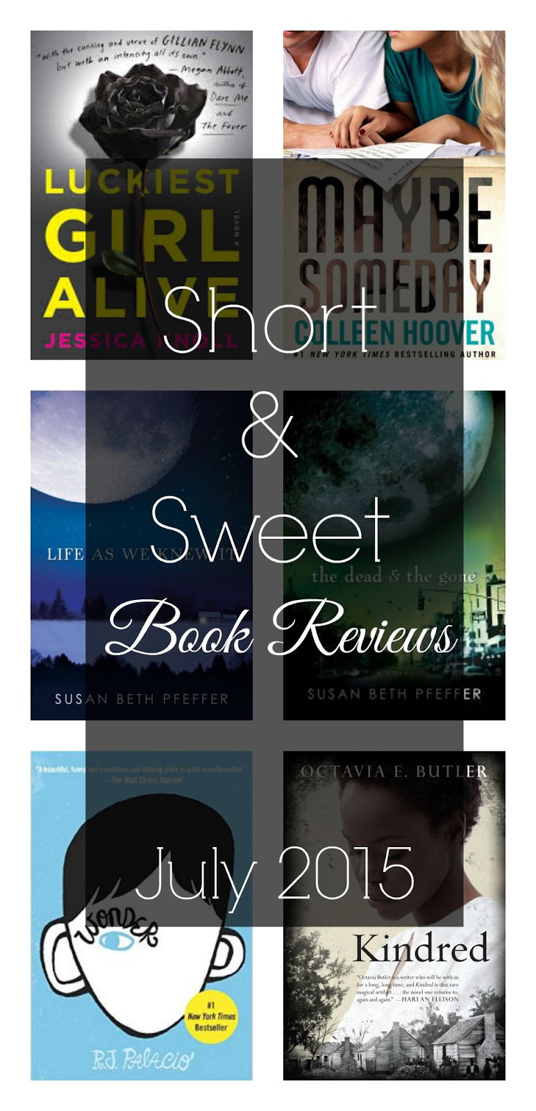 short and sweet summer book reviews
